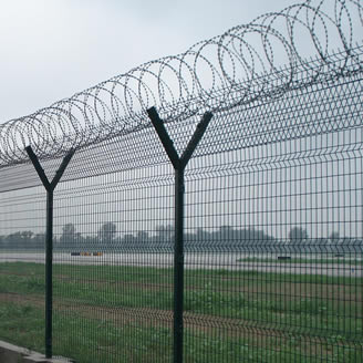Airport Fence Zhonghua Palisade Fencing Manufacture Co